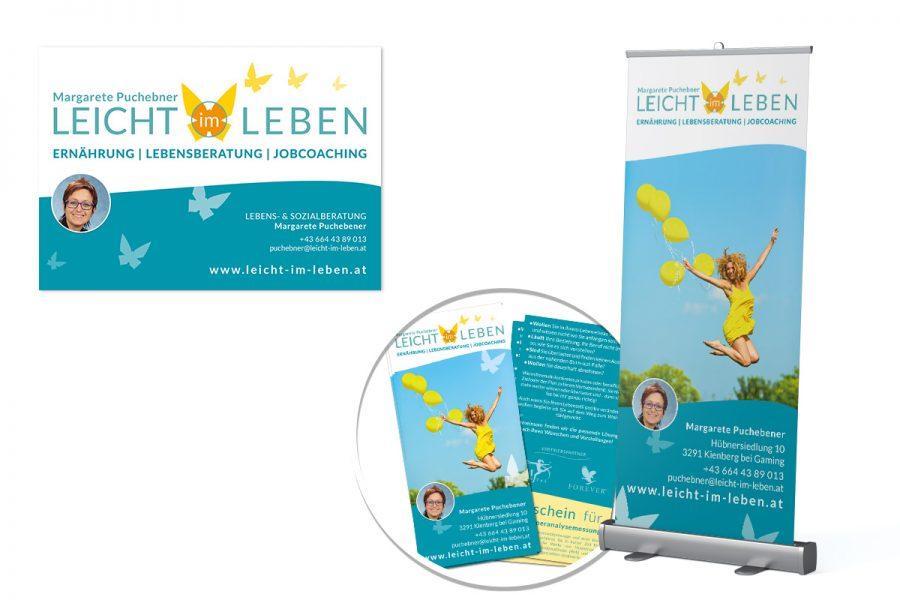 Leicht im Leben – Logo & CD