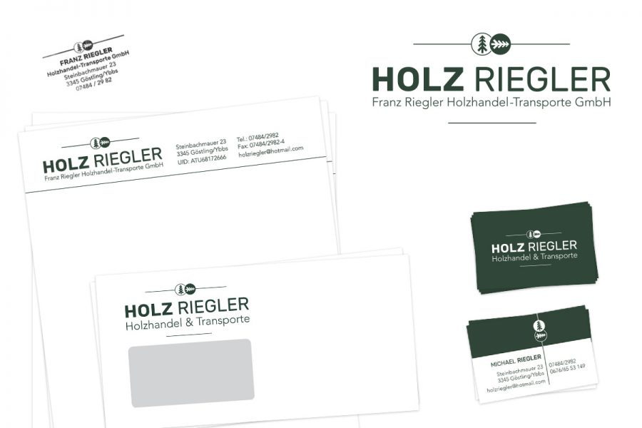 Holz Rieger - Corporate Design