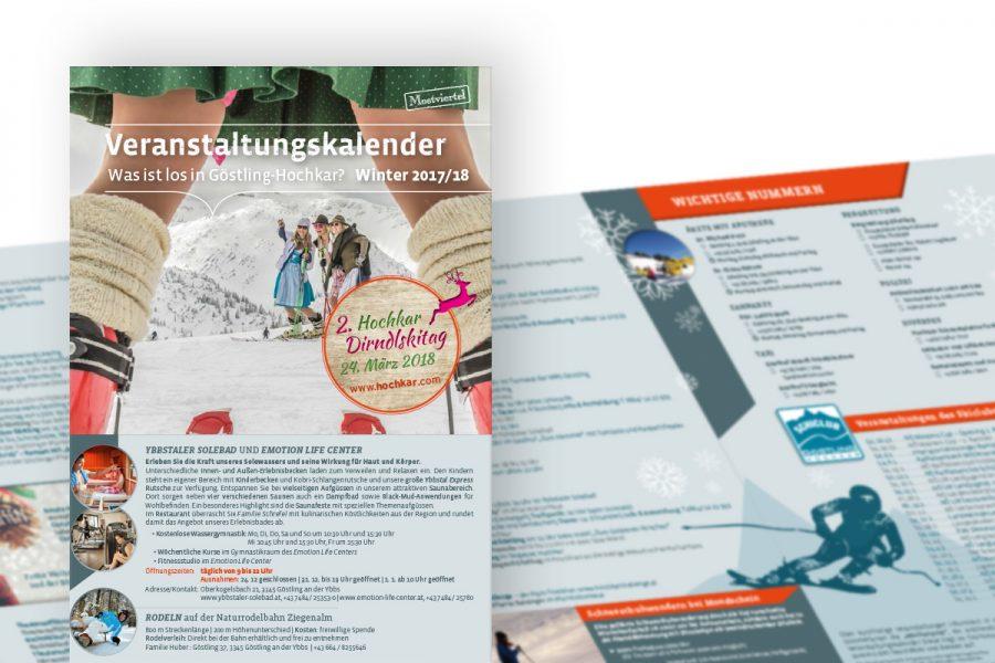 Veranstaltungskalender Göstling-Hochar Winter 2016/17