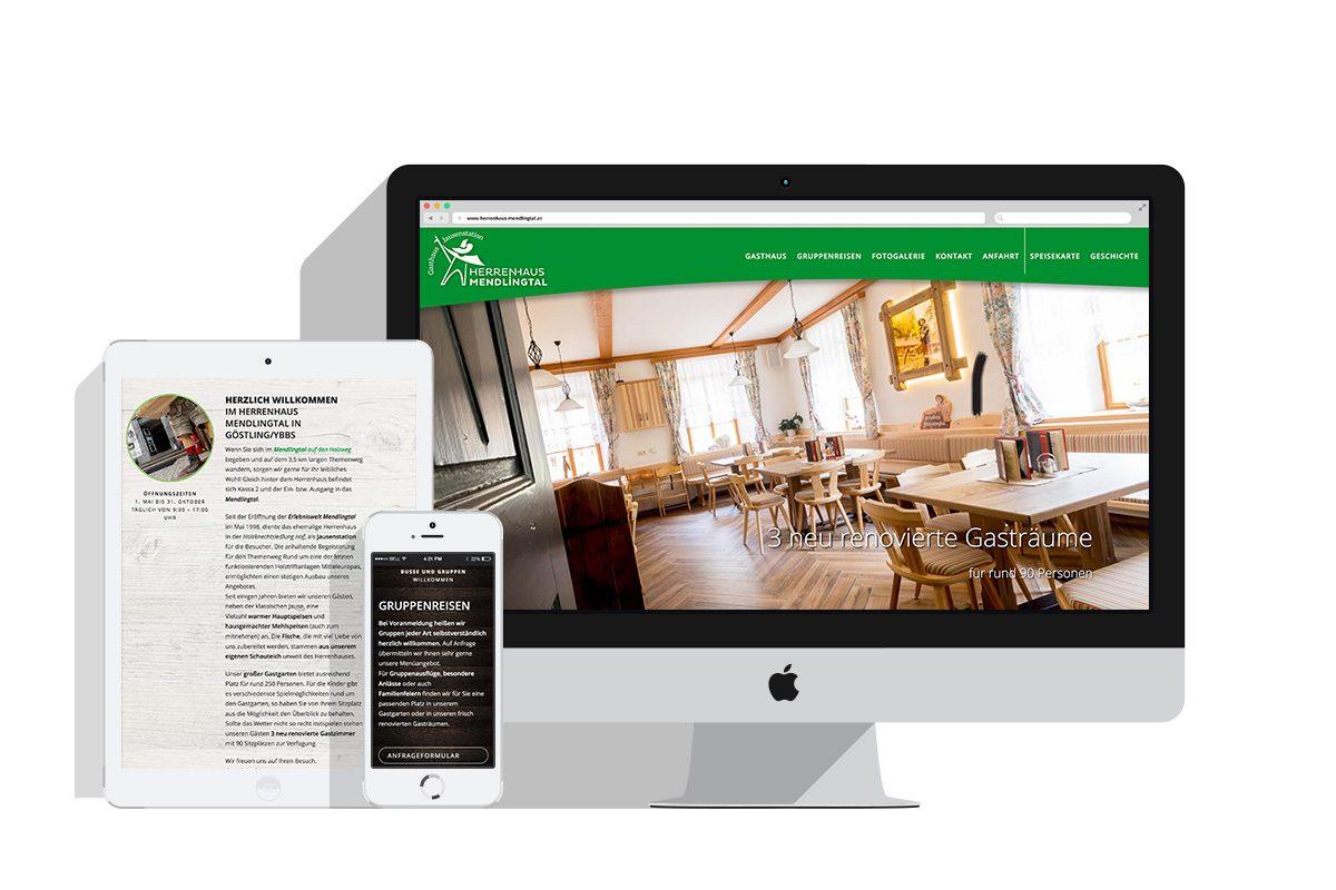 Webdesig: www.herrenhaus-mendlingtal.at