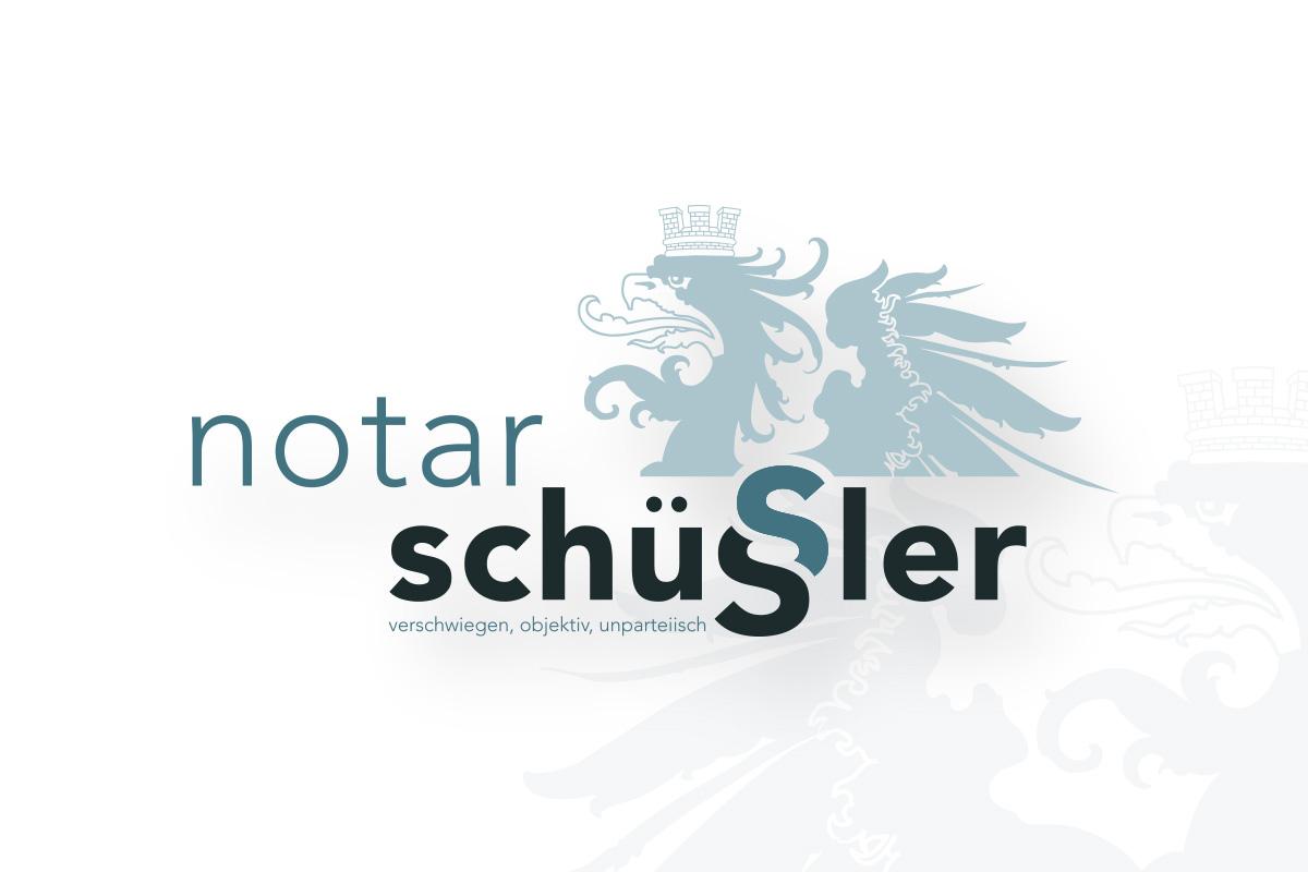 Logoentwicklung: Notar Schüssler
