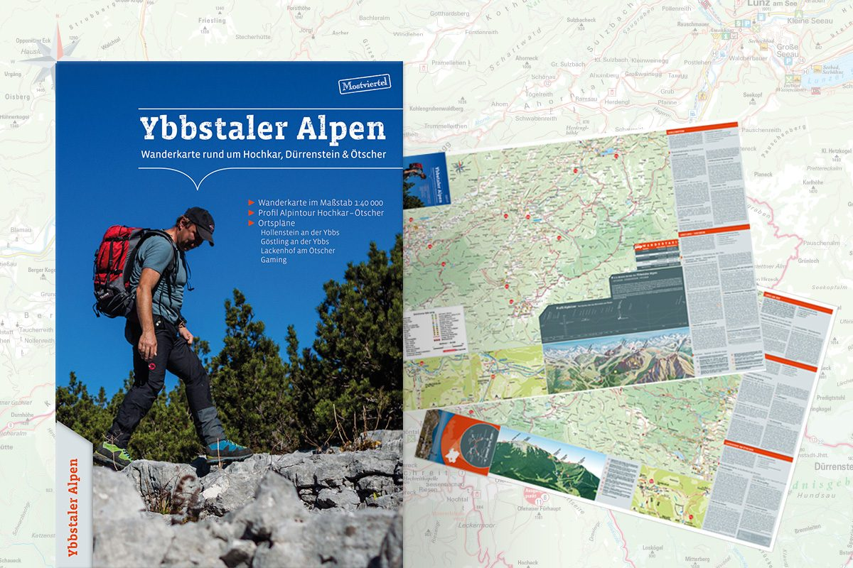 Wanderkarte Ybbstaler Alpen