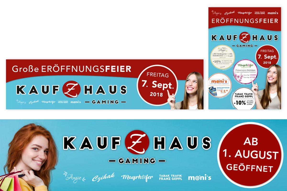 Kauf Z Haus Gaming - Transparente & Plakate