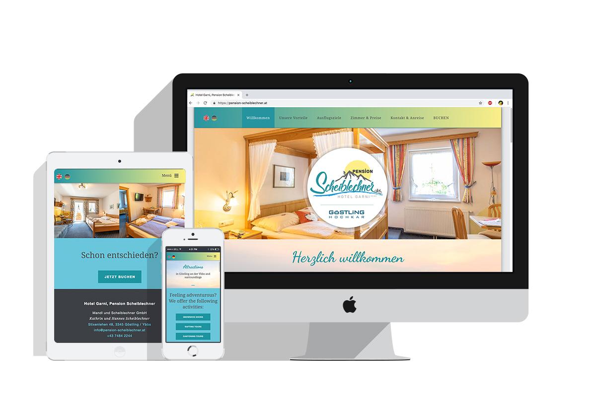 Homepage: www.pension-scheiblechner.at