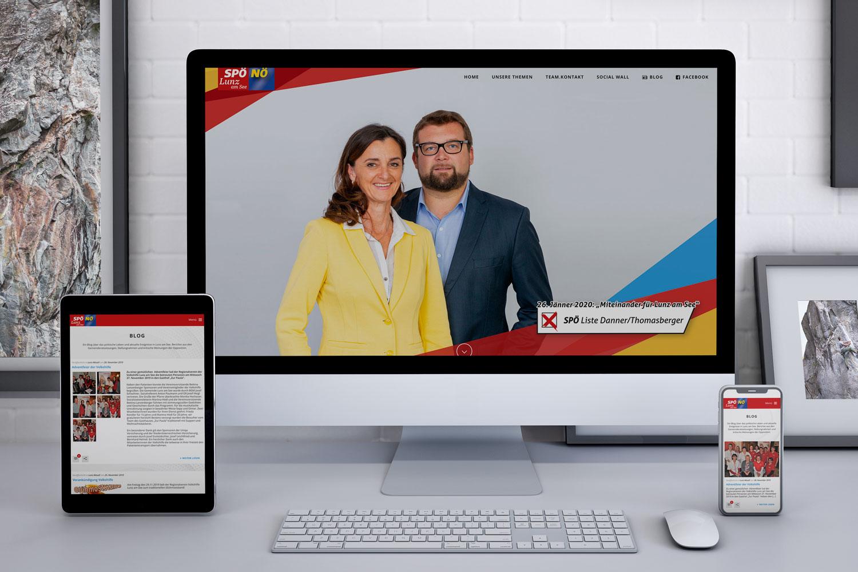Homepage/Blos SPÖ Lunz am See : www.zukunftlunz.at